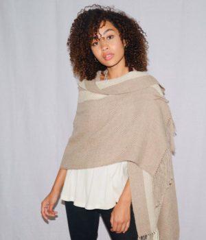 Chal Maya beige-crudo