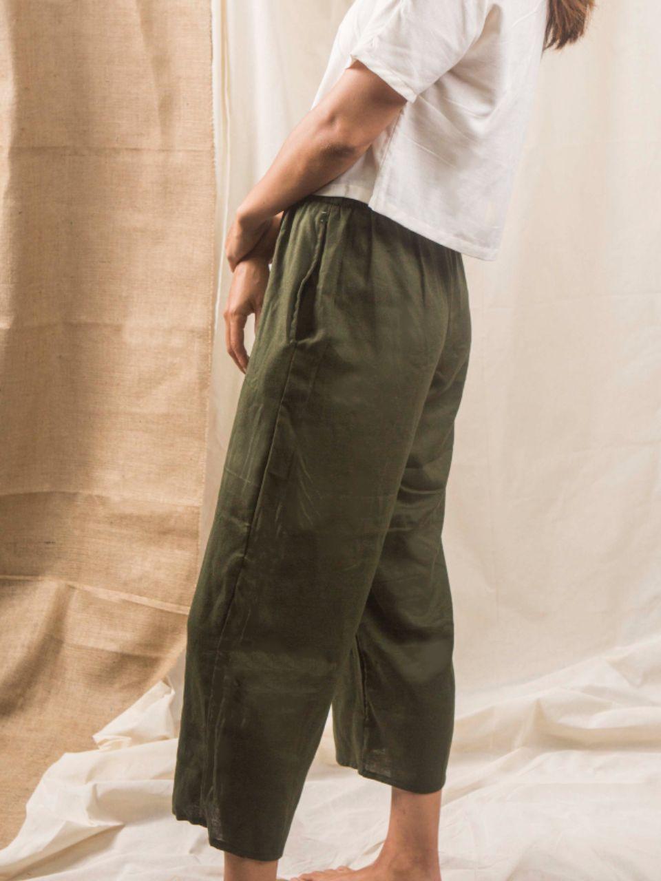 Pantalón verde 2
