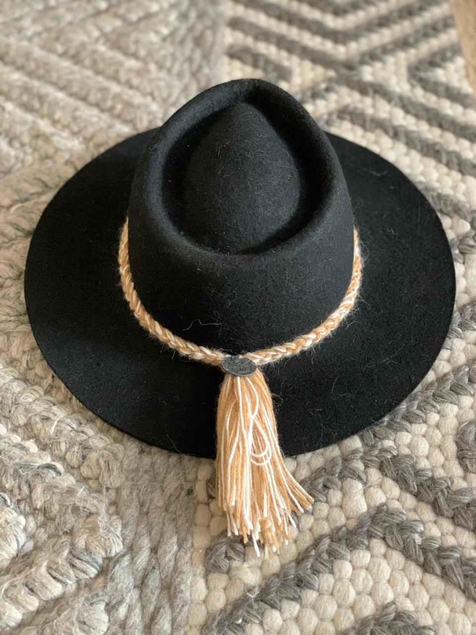 Sombrero trenzas negro – 7